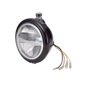 LEDヘッドライトASSY 5-3/4インチ ハンガーマウント 10/6W