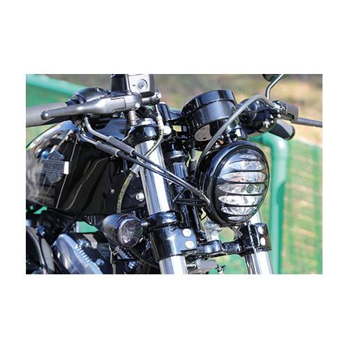 ヘッドライトグリル 05y〜5-3/4インチ用 ブラック