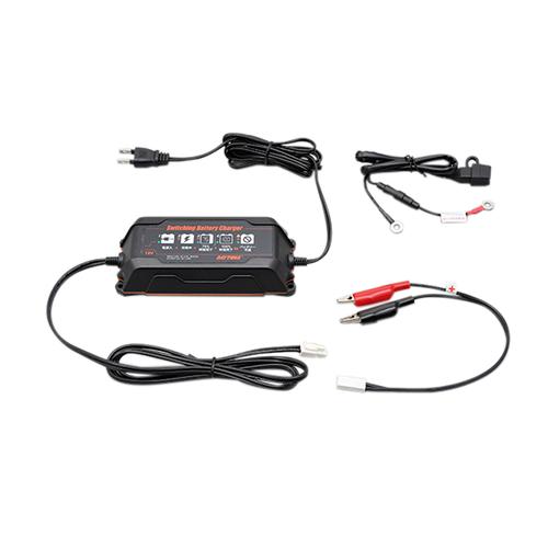 スイッチングバッテリーチャージャー12V(回復微弱充電器)