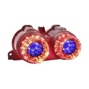 KOSO LEDテールアッセン タイプ2 [BWS125] レッド/ブルー