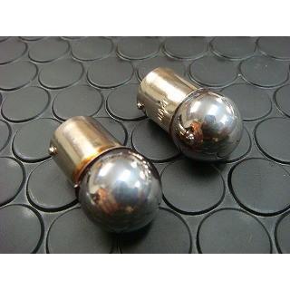 クロームウインカー球 /単球 [12V10W] オレンジ発光/ 1個