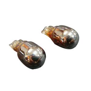 クロームウインカー球 [ウエッジタイプ] オレンジ発光 [12V10W/2個入]