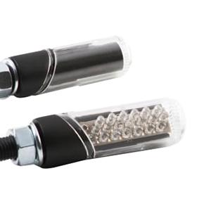 汎用LED円柱形ミニランプ [STARTECH] クリアレンズ/ブラックボディー