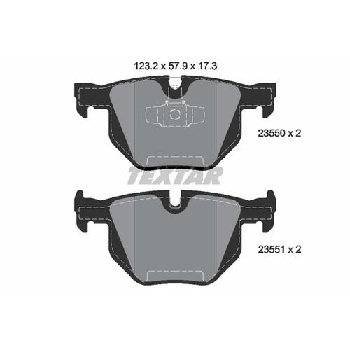 2355001 ブレーキパッド
