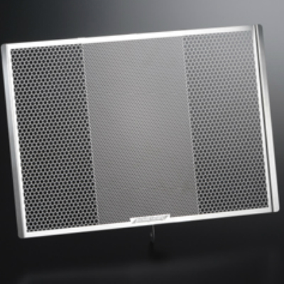 GSX-R600(04-05)用 ラジエターガード エンブレムカラー:レッド