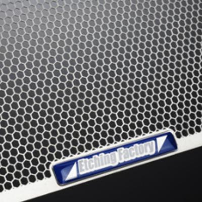 スピードトリプル(11〜)用 ラジエター&オイルクーラーガードSET エンブレムカラー:ブラック