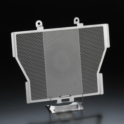 S1000RR/R/XR(ALL)用 ラジエータガード エンブレムカラー:ブラック