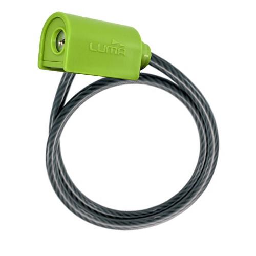 エンデューロ7334 ワイヤーロック 65cm グリーン