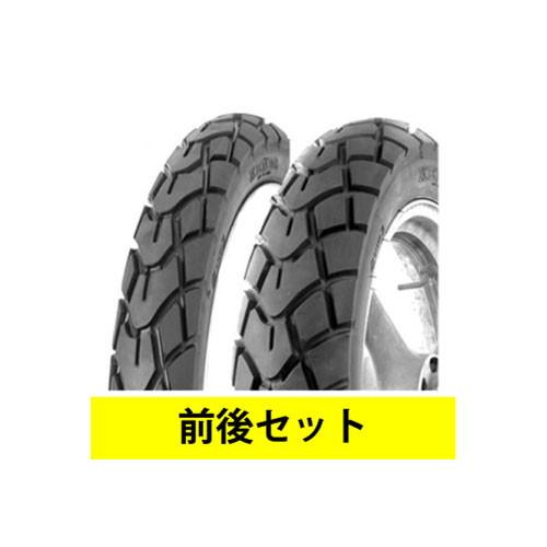 【セット売り】K761 120/90-10 130/90-10 前後セット