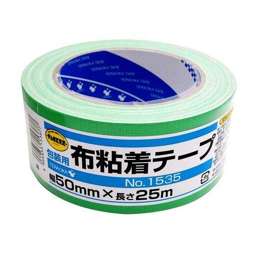 カラー布粘着テープ NO.1535 グリーン 50mm×25m