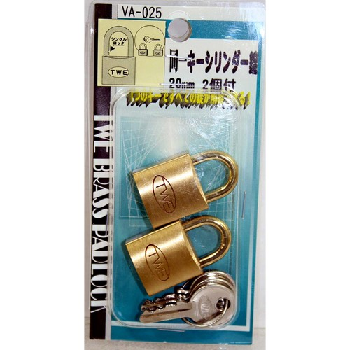 同一キーシリンダー錠 VA-025