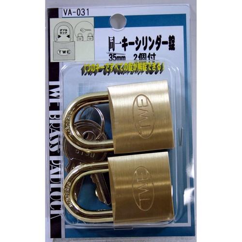 同一キーシリンダー錠 VA-031