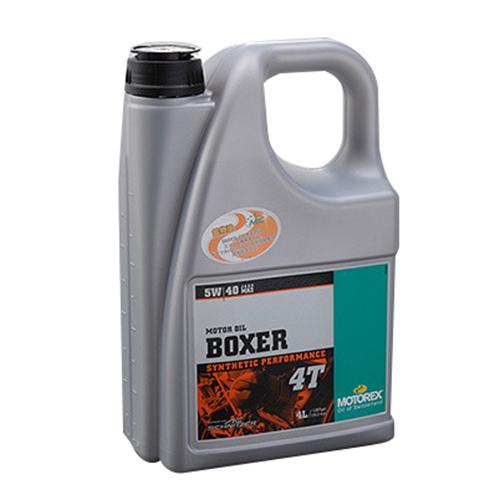 MOTOREX BOXER 4T 5W40 4L