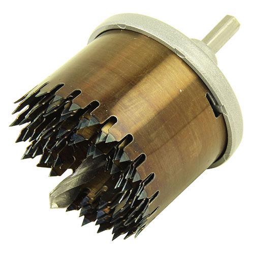 木工用深穴ホールソー 6枚刃