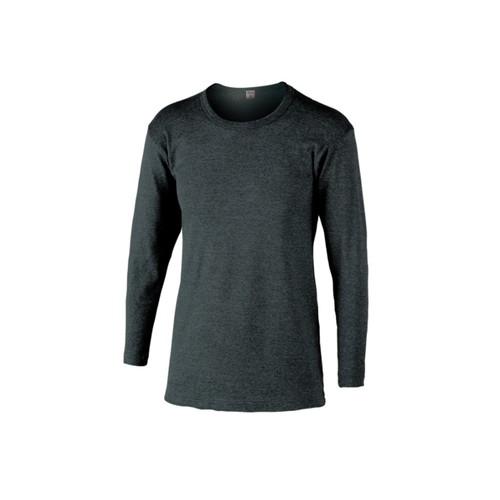 BTサーモインナーシャツ長袖丸首 モクグレー Lサイズ