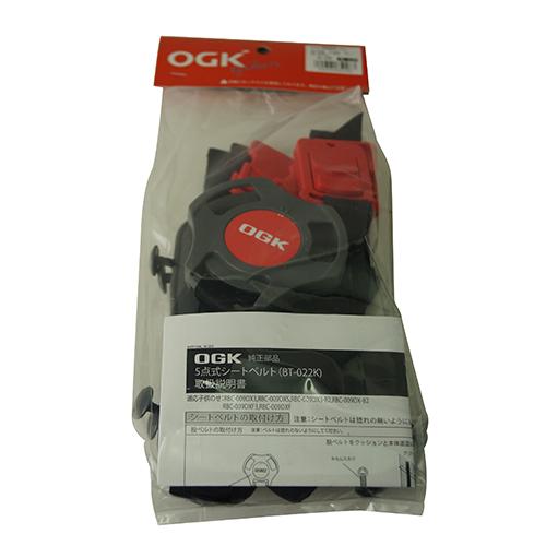 RBC009DX3専用 5点式シートベルトセット グレー