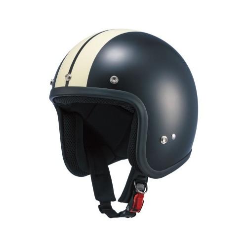 NK-JET-RS ジェットヘルメット フラットブラック/アイボリー