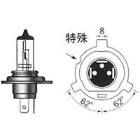 ヘッド球 H4R 12V60/35W(100/60Wクラス)