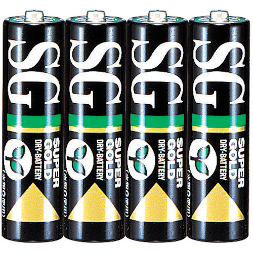 【取扱終了】マンガン乾電池単3形 (4本入)