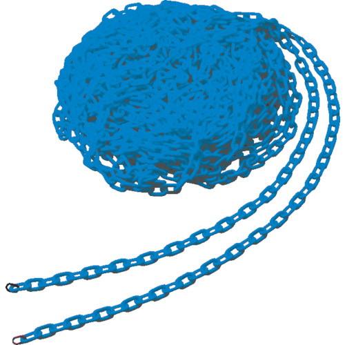 プラチェーン 6mm×30m ブルー