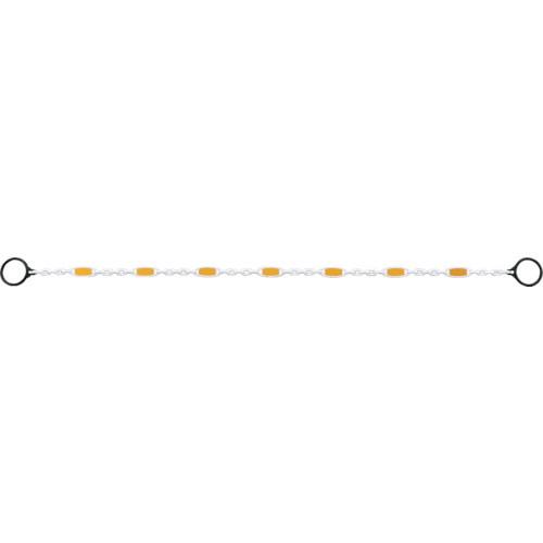 反射チェーン白リング付 寸法(m):約1.9