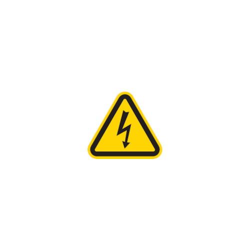 三角ラベル電気危険 50mm(一辺の長さ)