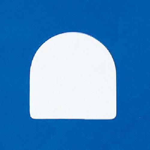 無地バッジ ペット樹脂 35×35×1.5mm厚 10枚組