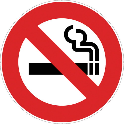 カラープラポールサインキャッププレート 禁煙