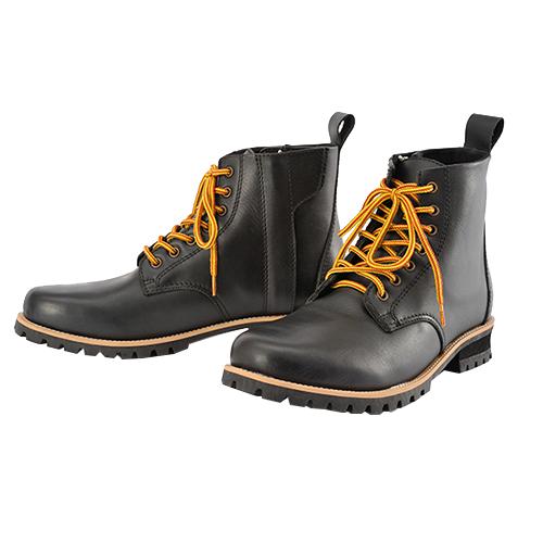 HBS-003 ショートブーツ ブラック 25.5cm