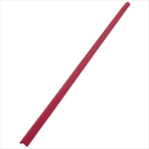 安心クッションL字型90cm 細 レッド