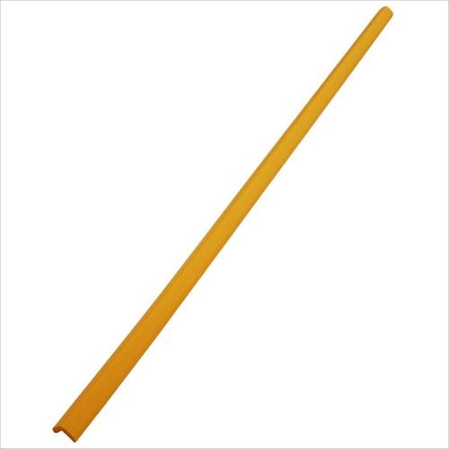 安心クッションL字型90cm 細 イエロー