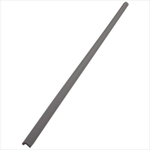 安心クッションL字型90cm 細 ライトグレー