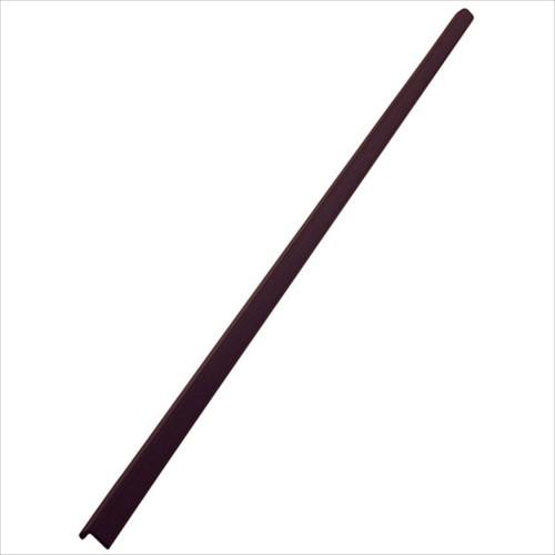 安心クッションL字型90cm 細 ブラウン