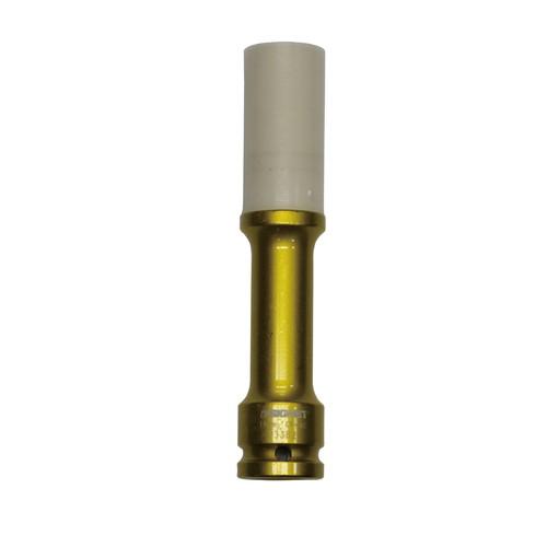 1/2DRホイルナット用インパクトソケット 19MM ロング