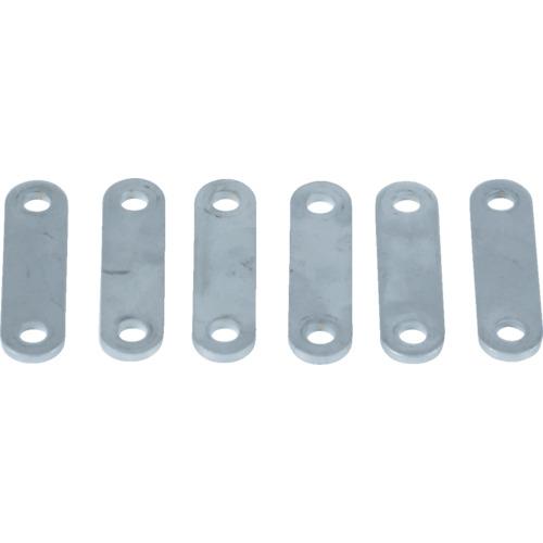 3本爪ギヤプーラ用座金(6枚セット)75mm