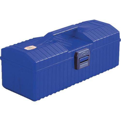 樹脂山型工具箱 青