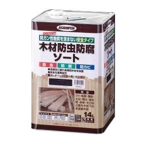 木材防虫防腐ソート 14L