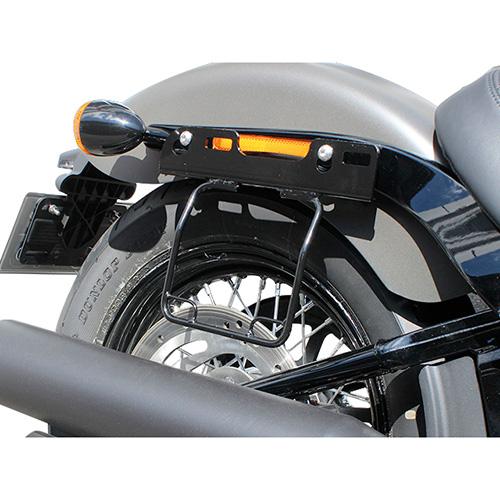 サドルバッグガード オールインワン DHW対応 右側(ブラック) HD-07900