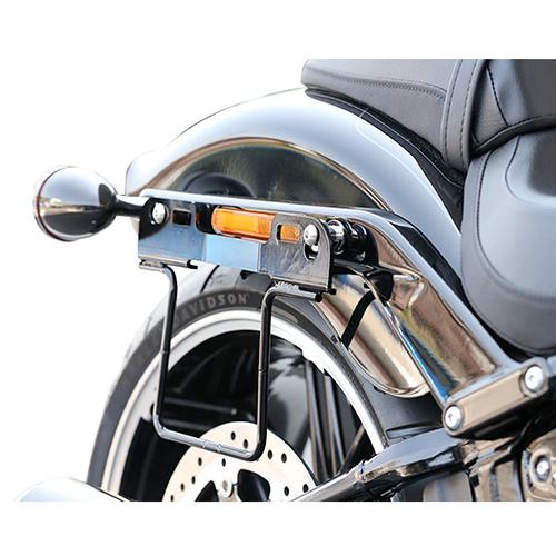 サドルバッグガード オールインワン DHW対応 右側(ブラック) HD-07902