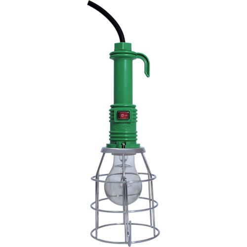 防雨型ハンドランプ 防雨耐震球ハンドランプ 100V100W スイッチ付