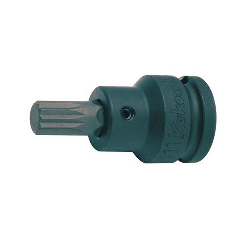 14105.11-M12 1/2(12.7mm)SQ. インパクト3重4角ビットソケット(XZN規格) M12