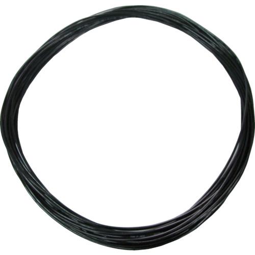 ソフトポリウレタンチューブ 4mm/20m 黒