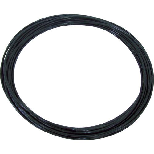 TEタッチチューブ 4mm/20m 黒