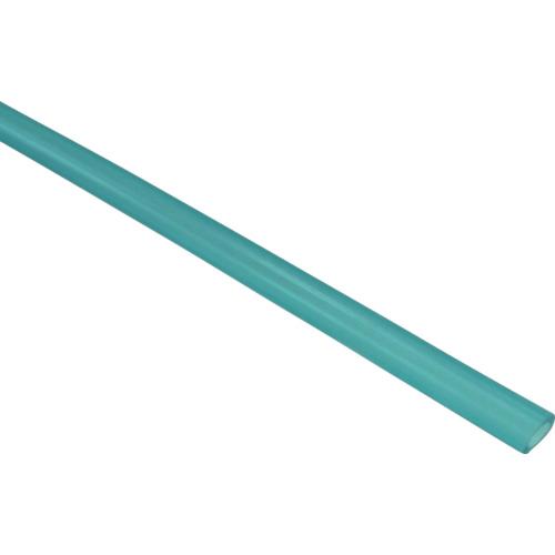 ソフトポリウレタンチューブ 6mm/100m 青透明