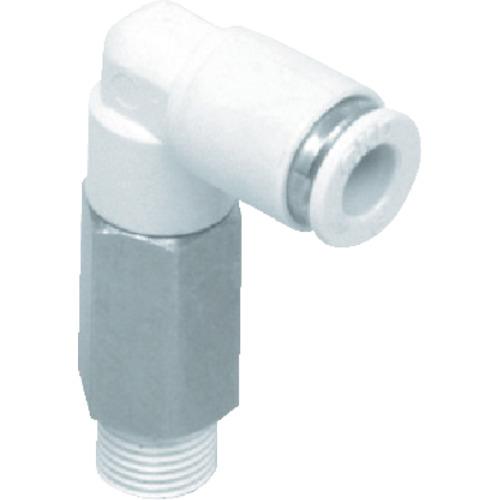 ニュージョイントエルボタイプ 適合チューブ外径:8mm 接続口径R3/8