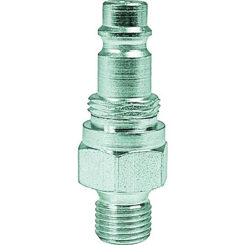 スナップ・チェック/358 ワンタッチ検圧ニップル バルブ付き G1/8 オネジ