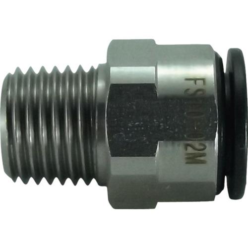 ファイブSUSメイルコネクタ 10mm・R1/4