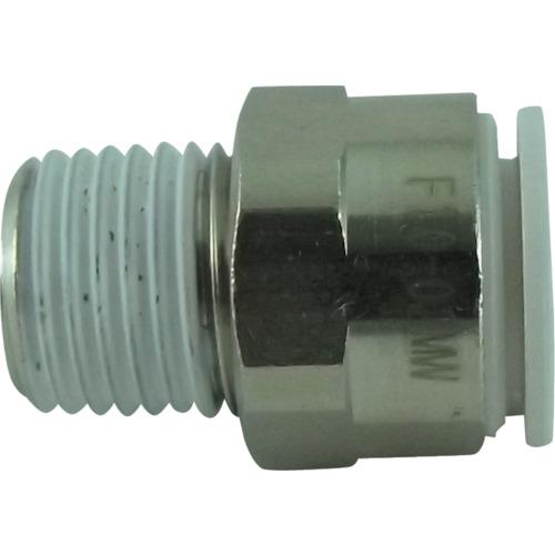 ファイブメイルコネクタ W(白)10mm・R1/4