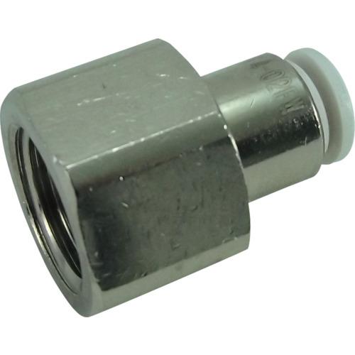 ファイブフィメイルコネクタ W(白)4mm・R1/4