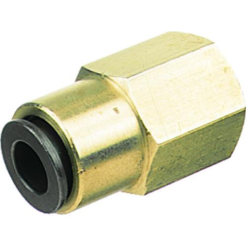 フジフィメイルコネクター(金属) 6mm・Rc1/8